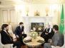 Встреча Святейшего Патриарха Кирилла с министром связи и массовых коммуникаций Российской Федерации И.О. Щеголевым (3 февраля 2012)