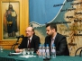 Заседание «Клуба православных журналистов» накануне открытия IV фестиваля православных СМИ «Вера и слово» (10 октября 2011)