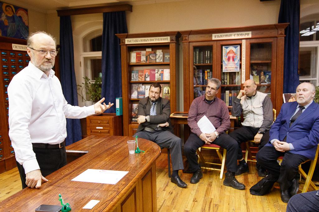 Встреча с Александром Щипковым состоялась в Государственном музее истории религии в Санкт-Петербурге