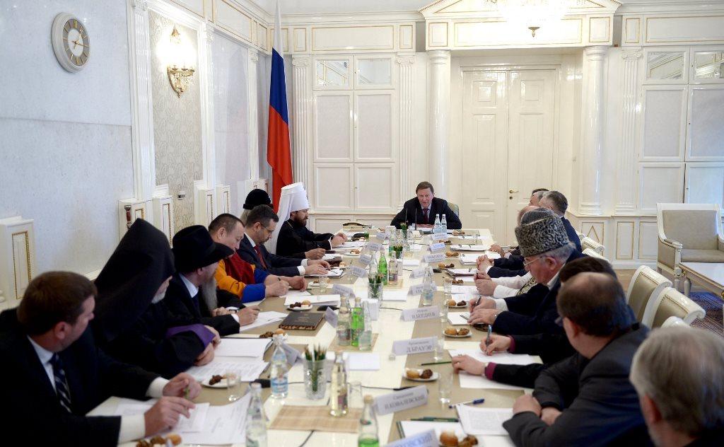 Представители Русской Православной Церкви приняли участие в заседании Совета по взаимодействию с религиозными объединениями при Президенте