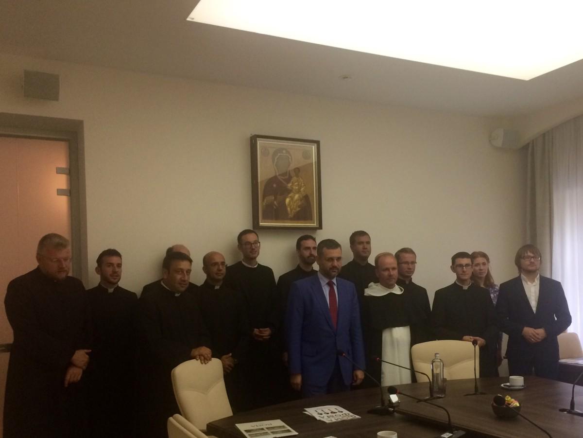 В.Р. Легойда встретился с сотрудниками подразделений Римской курии и представителями академического сообщества Католической Церкви