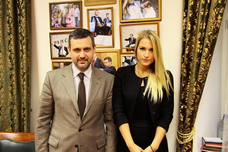 В.Р. Легойда провел встречу с Я.В. Лантратовой
