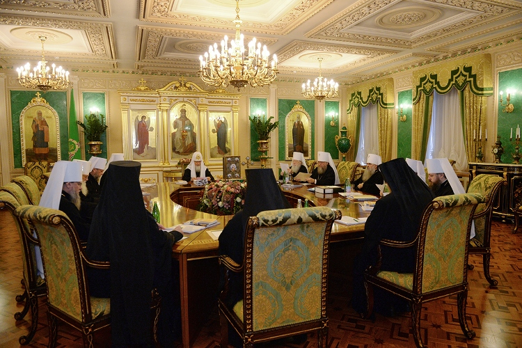 В Москве завершилось заседание Священного Синода