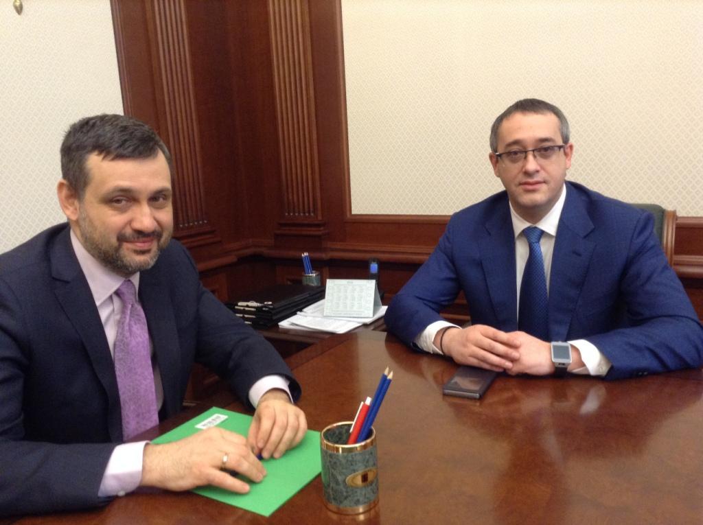 В.Р. Легойда провел рабочую встречу с Председателем Мосгордумы