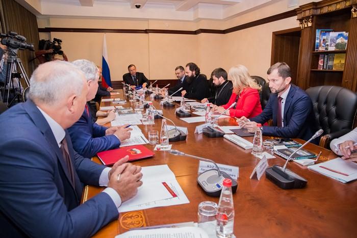Встреча представителей Церкви с министрами культуры СКФО прошла на полях медиафорума «Благословенный Кавказ»