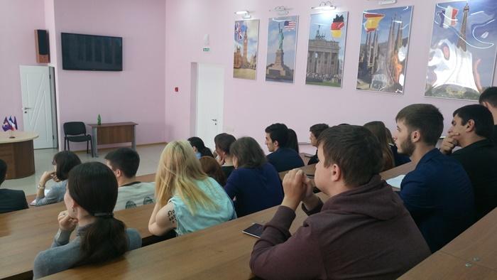 В.Р. Легойда встретился со студентами Пятигорского государственного университета