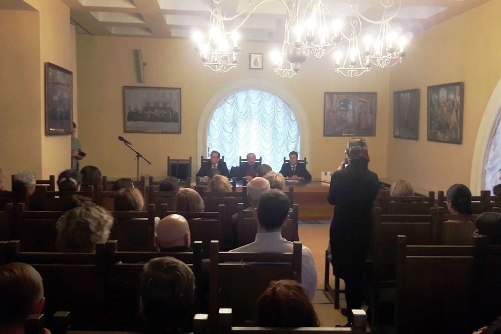 Круглый стол, посвященный изданию книги «Риторика Патриарха», состоялся на XXV Рождественских образовательных чтениях