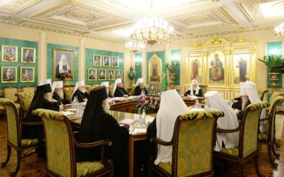 В.Р. Легойда прокомментировал основные темы заседания Священного Синода Русской Православной Церкви