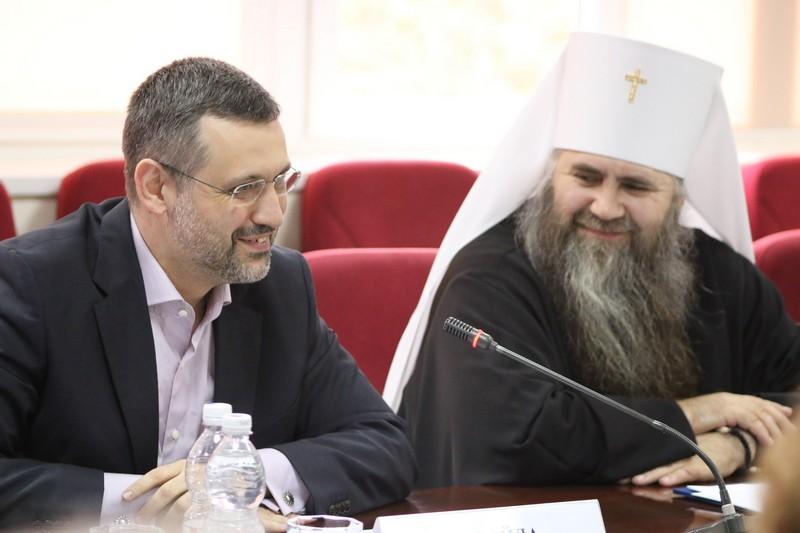 В.Р. Легойда принял участие в заседании духовно-научного центра в Сарове