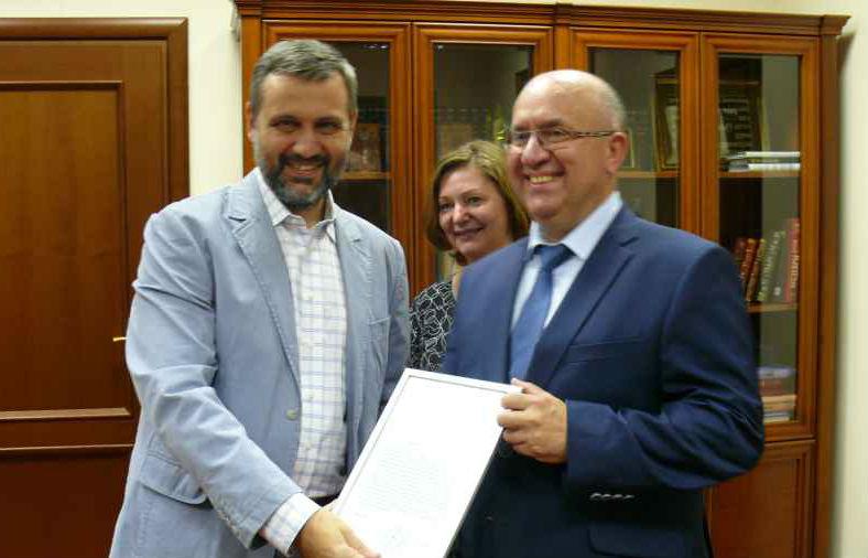 В.Р. Легойда поблагодарил «Межрегиональное агентство подписки» за организацию акции благотворительной подписки для кадетских корпусов России