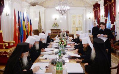 В Санкт-Петербурге завершилось заседание Священного Синода Русской Православной Церкви