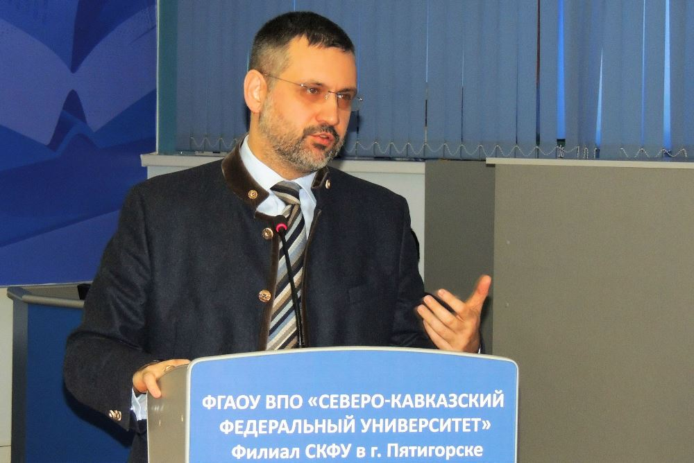 В.Р. Легойда провел встречу со студентами филиала СКФУ в Пятигорске