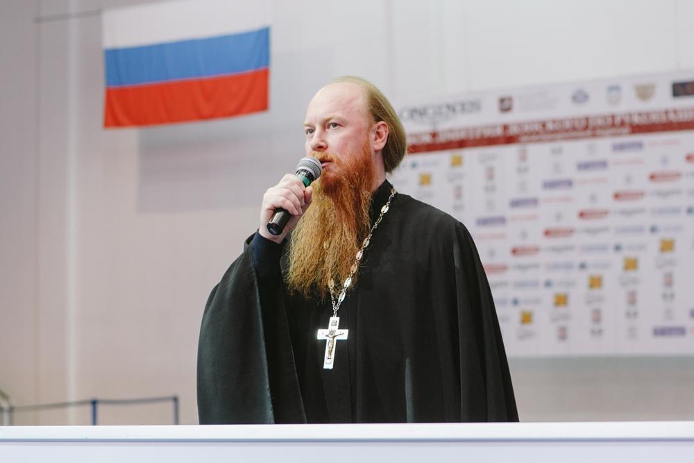 Протоиерей Димитрий Рощин открыл Первый международный турнир по рукопашному бою имени Дмитрий Донского