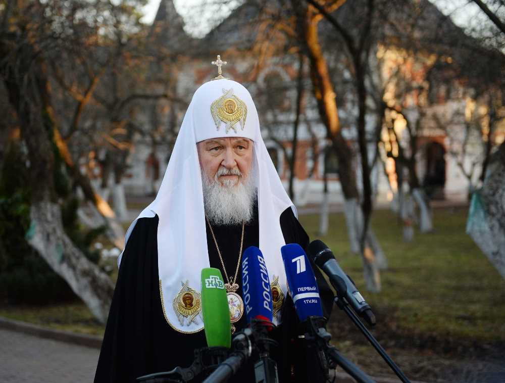 Святейший Патриарх Кирилл обсудил по телефону с Папой Римским Франциском и Предстоятелями Поместных Православных Церквей ситуацию в Сирии