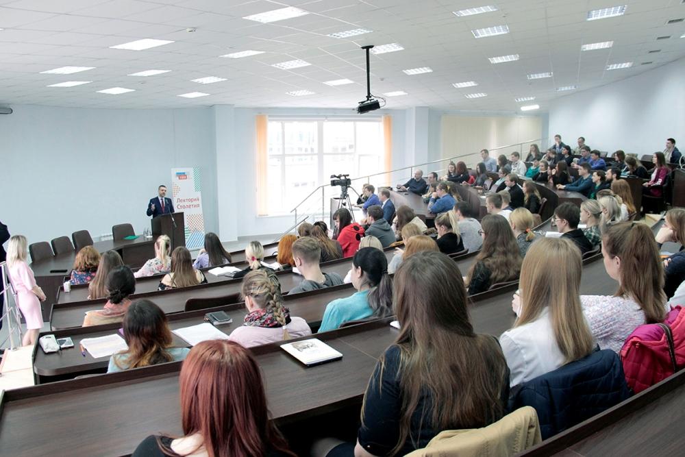 В.Р. Легойда встретился со студентами Смоленского государственного университета