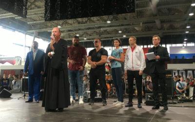 Протоиерей Димитрий Рощин принял участие в церемонии открытия Международного мультиспортивного фестиваля