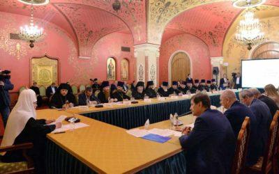 В храме Христа Спасителя состоялось первое заседание Патриаршей комиссии по вопросам физической культуры и спорта