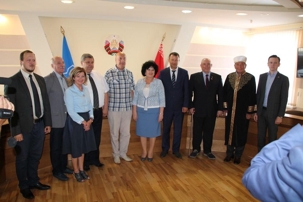 Руководитель Управления по работе с государственными структурами посетил город Слоним Республики Беларусь в составе делегации Общественной палаты Союзного государства
