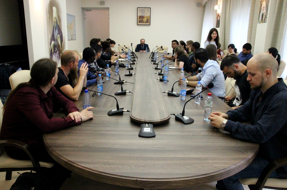 Состоялась встреча заместителя председателя Отдела с представителями Летнего немецкого института