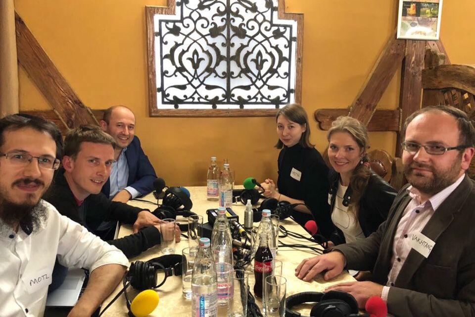 В.В. Кипшидзе принял участие в программе радиостанции BBC