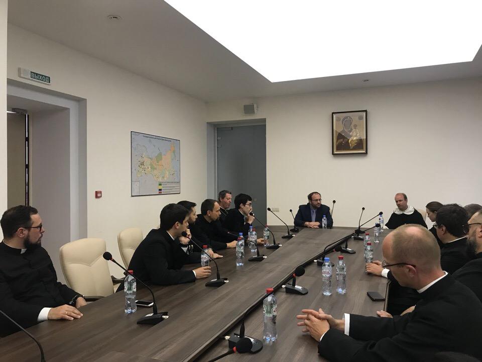 Состоялась встреча В.В.Кипшидзе с представителями Римско-Католической Церкви