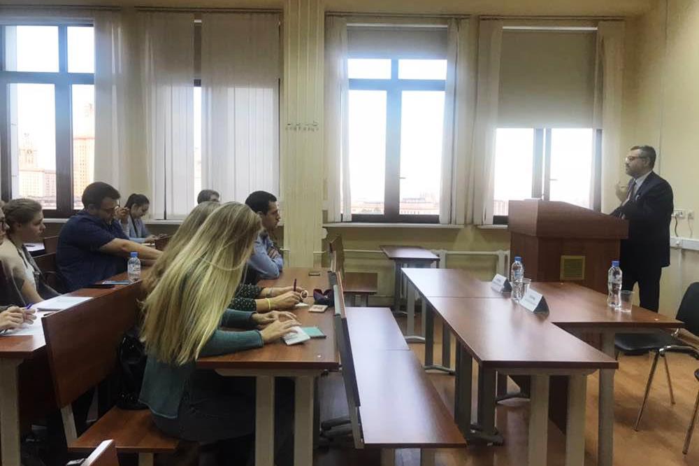 В.Р. Легойда провел встречу со студентами Московского государственного университета