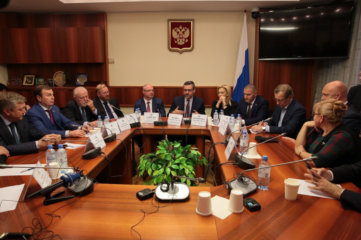 В.Р. Легойда провел встречу с депутатами Государственной думы