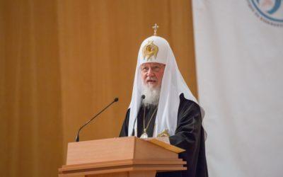 Святейший Патриарх Кирилл: Цель информационной миссии Церкви — не победа над оппонентом, а христианское свидетельство миру
