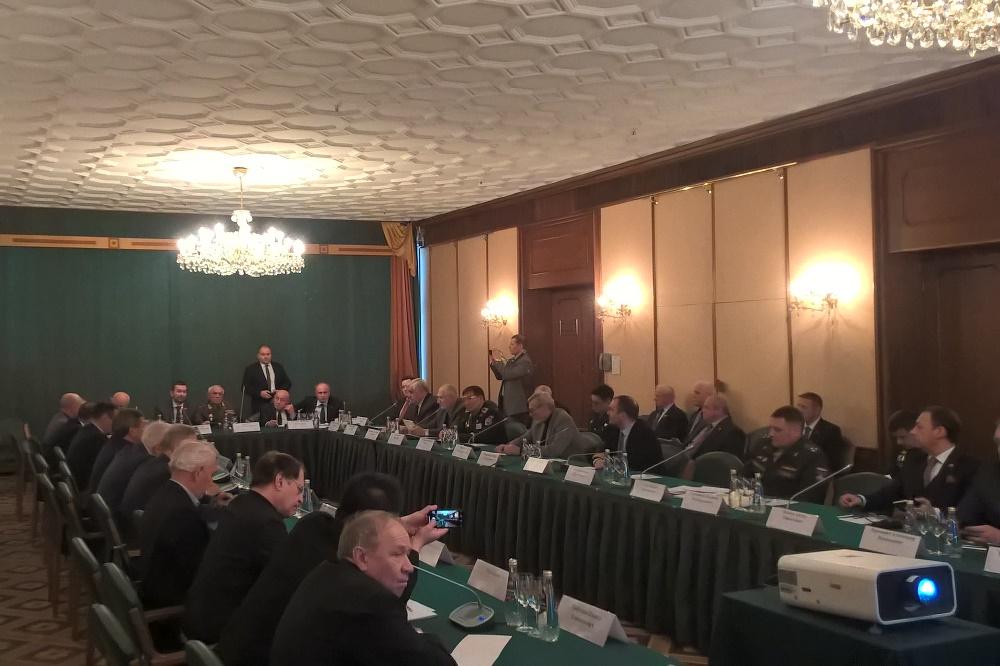 Представитель Отдела принял участие в совместном заседании Общественной палаты Союзного государства и Международного общественного оргкомитета мероприятий к 75-летию Великой Победы
