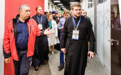 Делегаты фестиваля «Вера и слово» посетили офис IT-компании «Ашманов и партнеры»