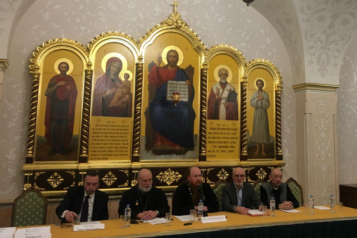 Протоиерей Димитрий Рощин возглавил секцию «Дорогу доброму кино» в рамках Международных Рождественских образовательных чтений