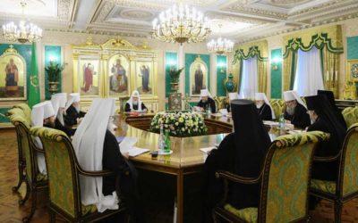 В.Р. Легойда: Священный Синод принял специальное заявление о положении Украинской Православной Церкви