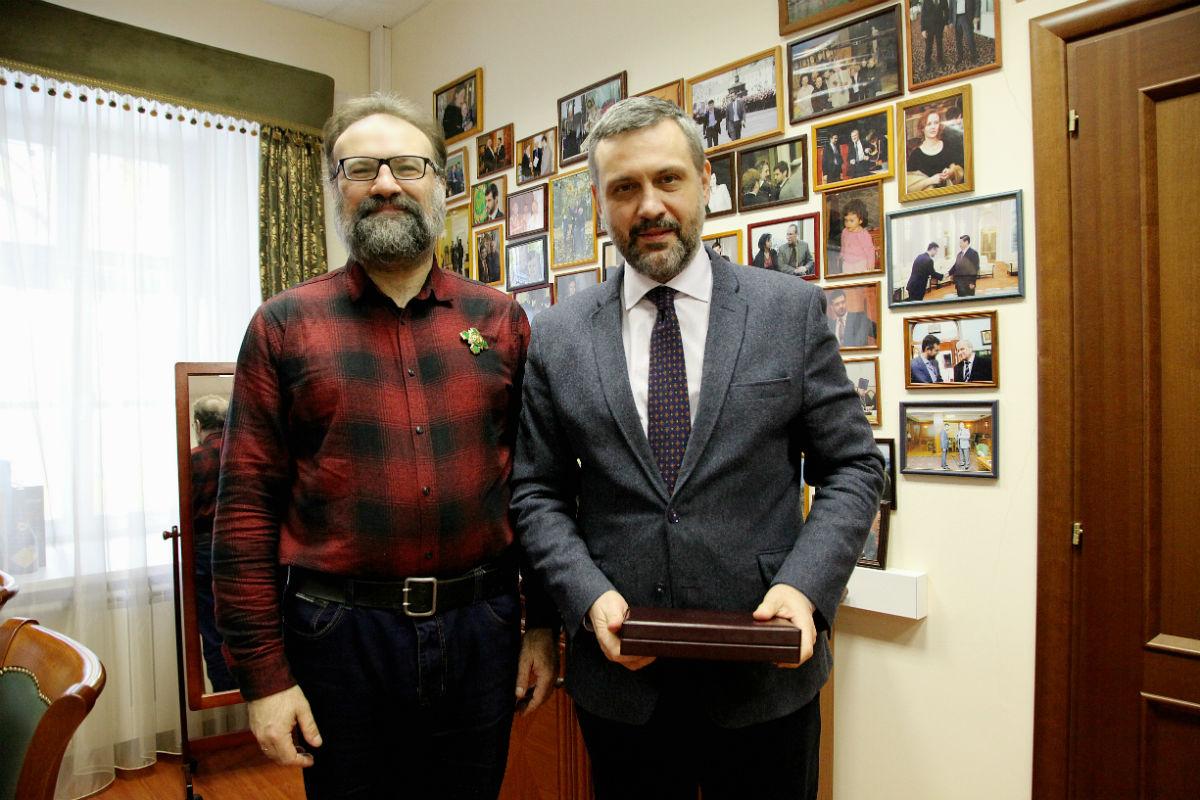 Писатель, православный публицист С.Л. Худиев награжден орденом Сергия Радонежского III степени