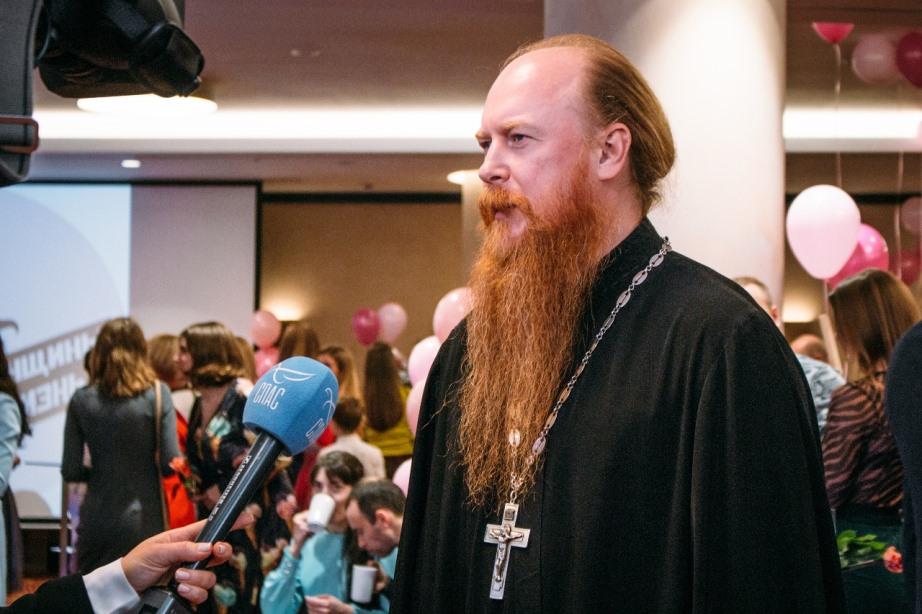 Протоиерей Димитрий Рощин принял участие в торжественном приеме фонда «Женщины за жизнь»