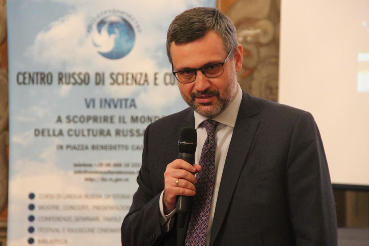 Состоялся визит председателя Синодального отдела по взаимоотношениям Церкви с обществом и СМИ В.Р. Легойды в Ватикан