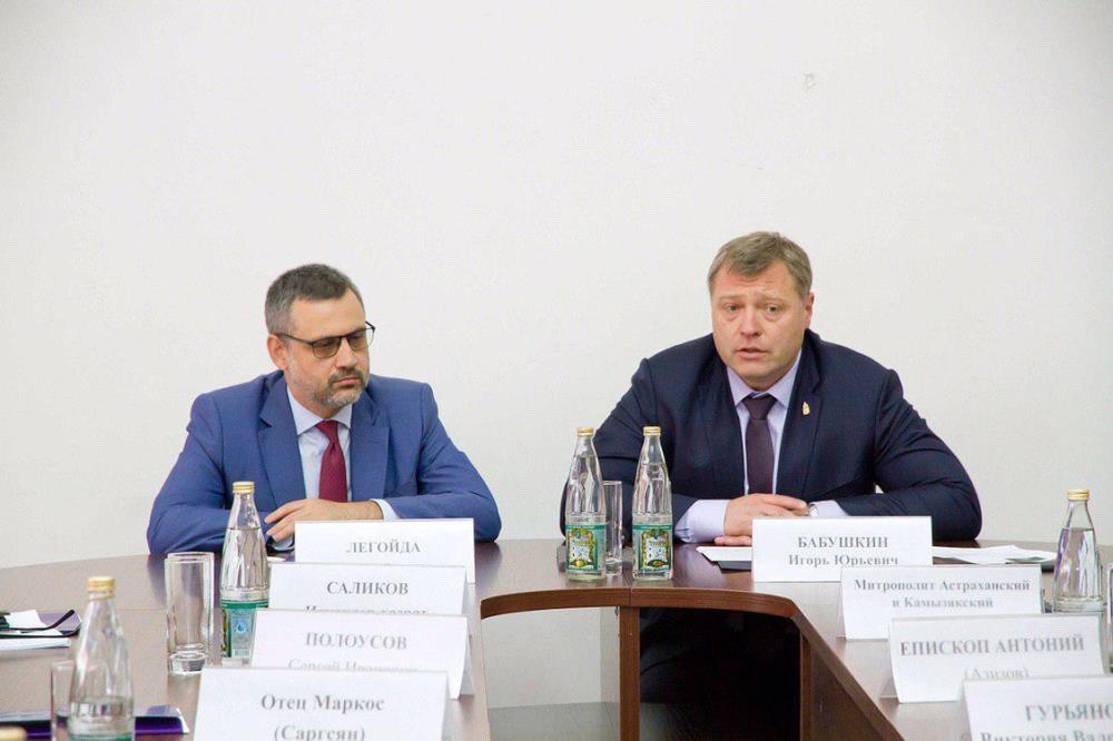В.Р. Легойда находится с визитом в Астрахани
