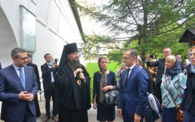 В.Р. Легойда принял участие во встрече с министром иностранных дел Германии Хайко Маасом