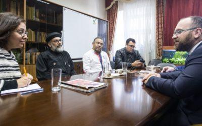 Делегация Египетской Коптской Церкви посетила Синодальный отдел по взаимоотношениям Церкви с обществом и СМИ