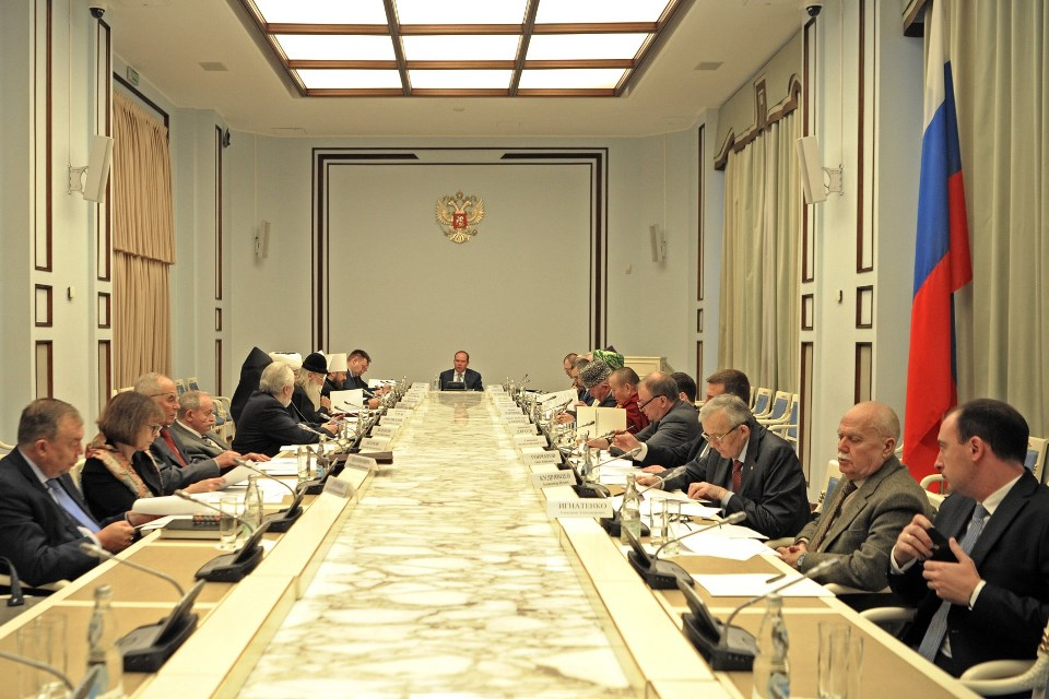 В.Р. Легойда принял участие заседании Совета при Президенте Российской Федерации по взаимодействию с религиозными объединениями