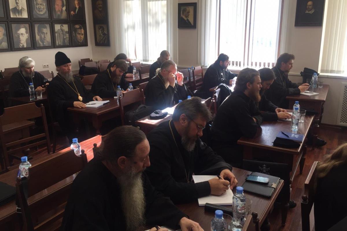 Руководители Отдела выступили с лекциями в рамках курсов повышения квалификации для новопоставленных архиереев