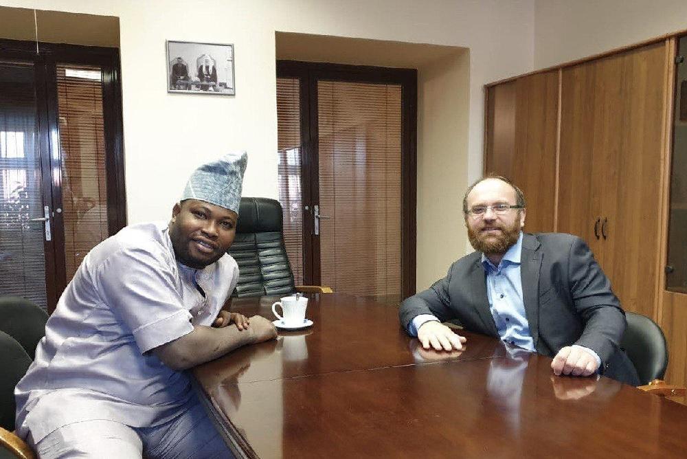 В.В. Кипшидзе встретился с представителем протестантской Церкви Нигерии