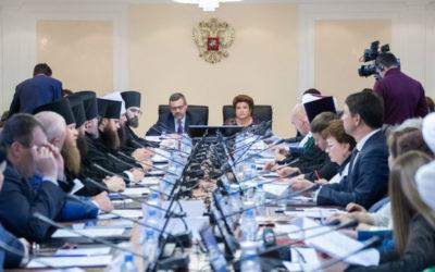 В.Р. Легойда принял участие в VIII Рождественских парламентских встречах в Совете Федерации