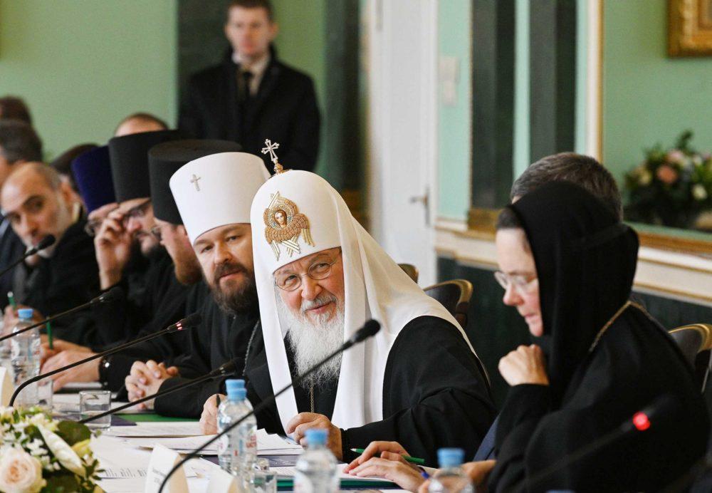 Выступление Святейшего Патриарха Кирилла на объединенном заседании Межрелигиозного совета России и Христианского межконфессионального консультативного комитета