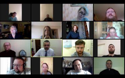 Состоялось онлайн-совещание с представителями епархий Северо-западного федерального округа