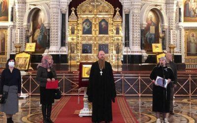 Протоиерей Димитрий Рощин принял участие в открытии акции «Крылья ангела» в храме Христа Спасителя
