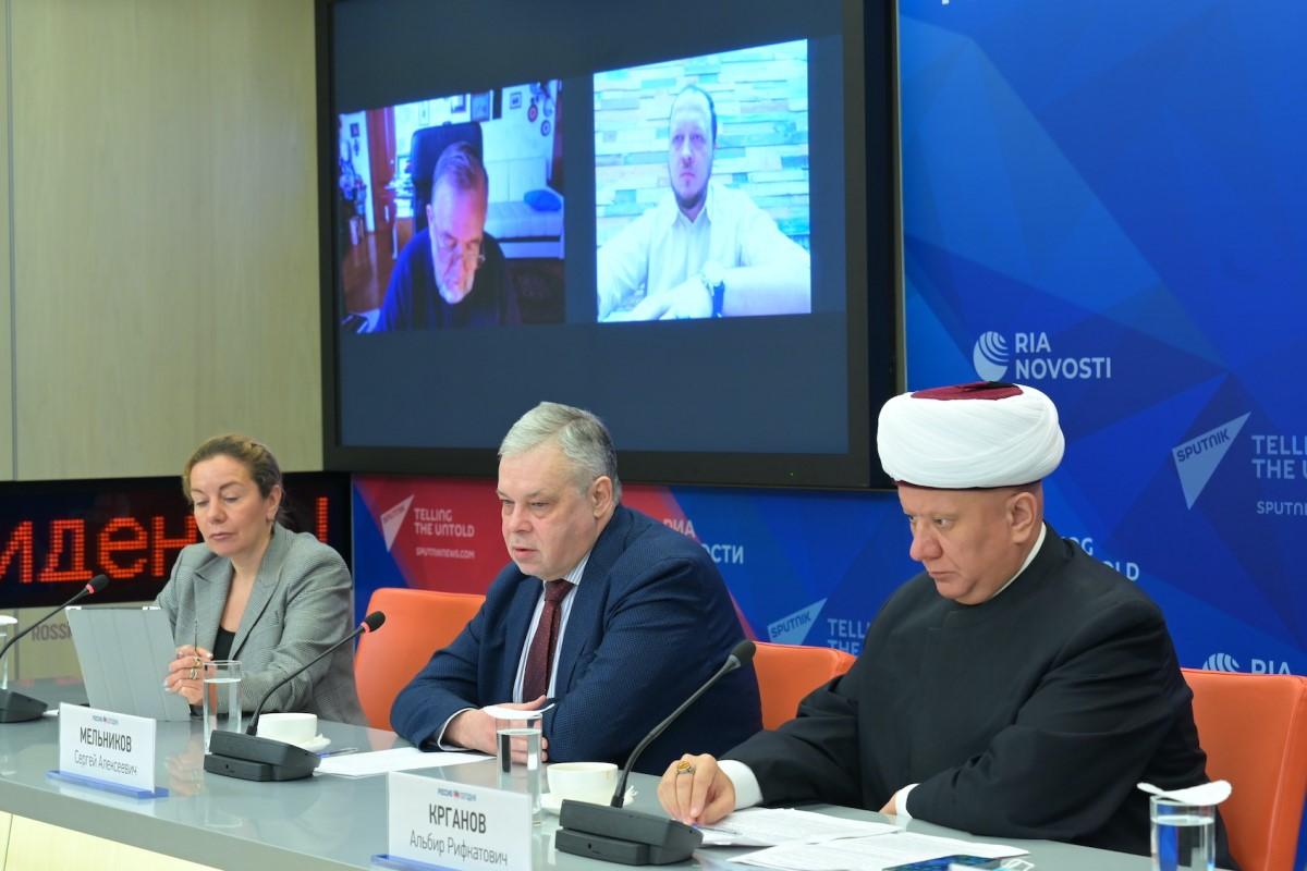 В МИА «Россия сегодня» состоялась пресс-конференция по случаю Всемирной недели гармоничных межконфессиональных отношений