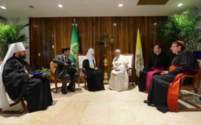 В.Р. Легойда: Гаванская встреча подняла тему гонений на христиан на общемировой уровень