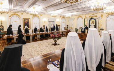 Священный Синод утвердил ряд решений, связанных с почислением архиереев на покой и назначением викарных епископов