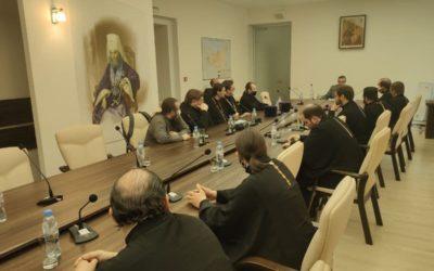 В рамках XXIX Международных образовательных чтений состоялась встреча В.Р. Легойда со священнослужителями-блогерами