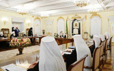 Священный Синод Русской Православной Церкви на очередном заседании принял ряд важных кадровых решений